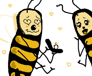 Bee Sure likes his honny