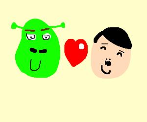 Shrek x hitler