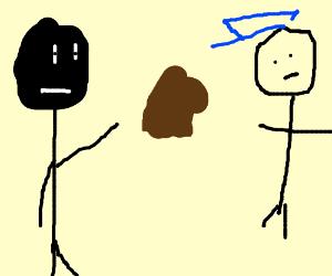 Monkey Throwing Poop Drawception