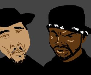 Ice-T vs ice cube
