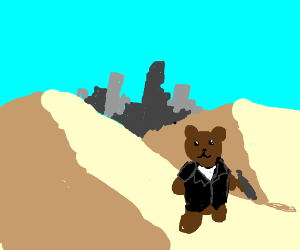 One teddy braves the wastelands (Cont.)
