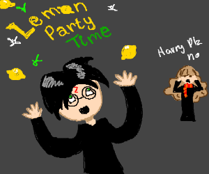 Harry Potter and a lemon party