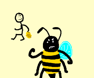 Bee is robbed, and now is mad