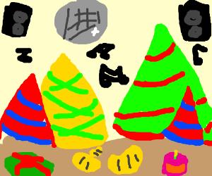 A party landscape!