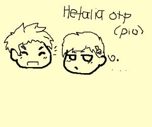 Hetalia OTP, PIO