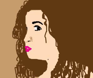 If Emma Watson had an Afro