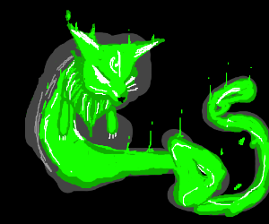 the greenest fox spirit ever