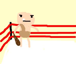Caveman wrestler