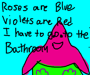 Write a violets are blue poem