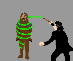 Snape has caught Chewy