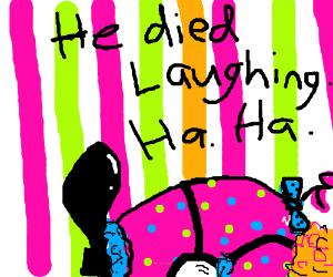 A dead clown