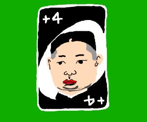 Kim Jong UNO!