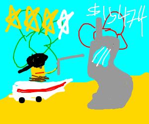 Grand Theft Spongebob