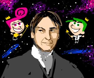 Cosmos with Cosmo, Wanda, and Carl Sagan