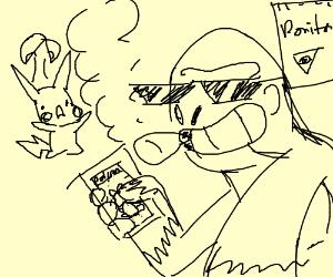 mlg hurumbe playing pokemon go