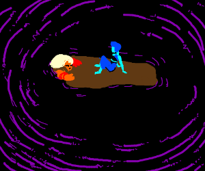 The end of titanic with lapis and jasper