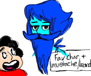 Fav char. + mustache and beard (PIO)