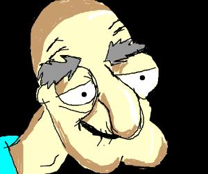 Herbert The Pervert From Family Guy Drawception