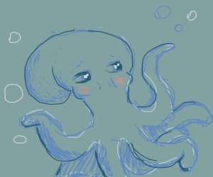 Anime squid