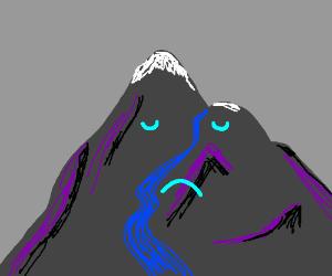 The mountain of sadness