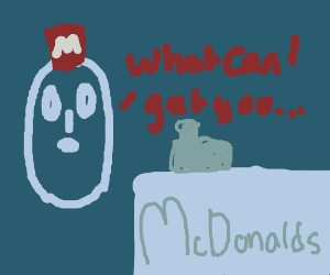 ghosts catering with McDonalds
