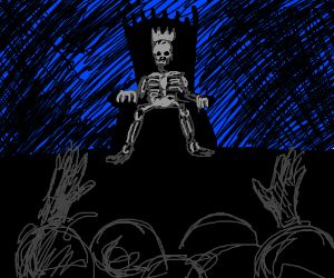 Bow down to your skeleton overlord!