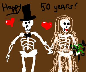 Happy couple has been married 50 years