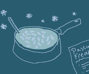 Cold pasta