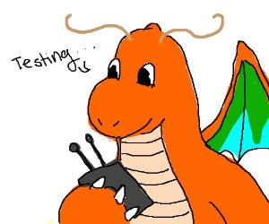 dragonite saying testing