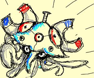 Magnemite x Tentacruel Fusion