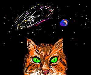 Cat wants the universe
