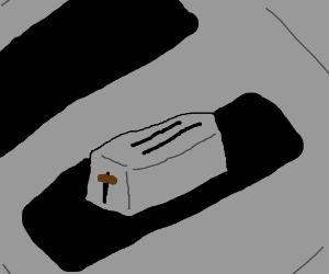 toaster toasting toaster