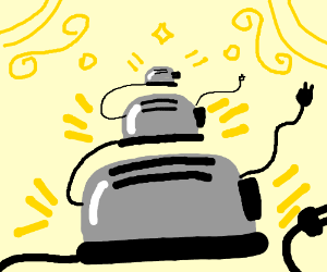 Tiny Toasters pop out of big Toaster!