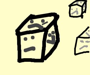 cubes have six faces