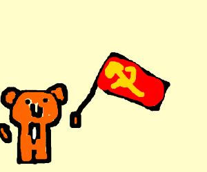 Tony the tiger promotes communism