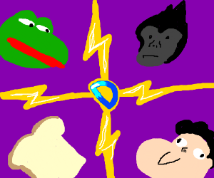 The 4 main factions of drawception