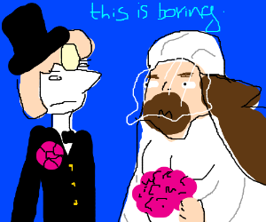 Boring, classic, heterosexual marriage