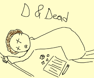 Morty died in Dungeons and Dragons:(