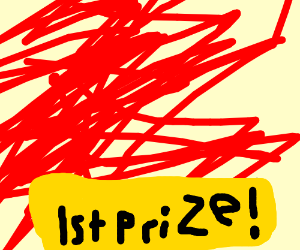 Objectively bad art got 1st prize