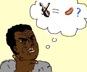 Thinking: Violin = Hotdog