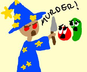 Wizard Yen Sid murders living veggies