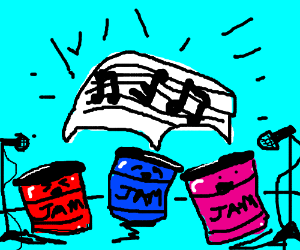 Not the kind of jam session I expected
