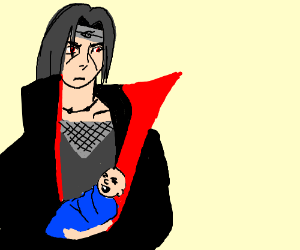 Itachi, is that a baby?