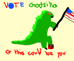 Godzilla for President