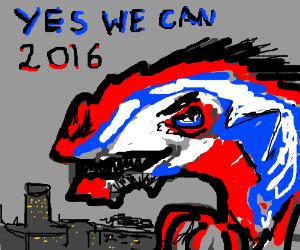 Godzilla for 2k16 election