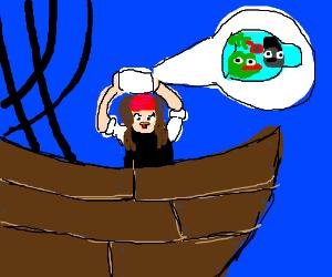 Jack Sparrow got a jar of memes!