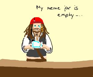 Meme jar is empty :(