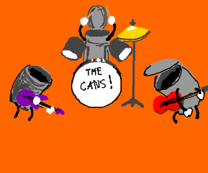 Cans jammin