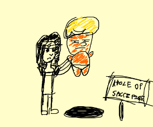 Itachi sacrifices Trump baby