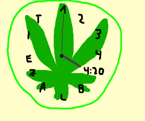 What hour is it? 4:20 o'clock